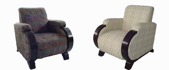 Antes y después de un mueble retapizado